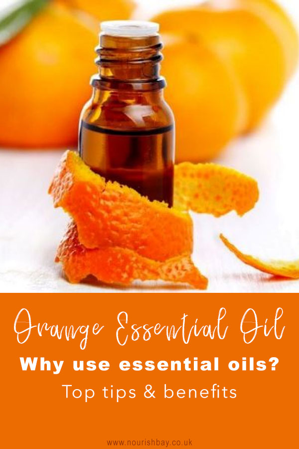 Orange oil has many skincare benefits. The peel can be dried and ground to a powder to be used in beauty treatments. It can add a glow to skin as well as reduce dark spots and blemishes. The nutrients that oranges contain make them beneficial for hair stimulation and growth whilst reducing dandruff.