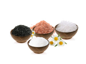 Sea salt in skin care